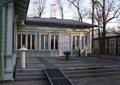 Vaade muuseumitoale terrassilt