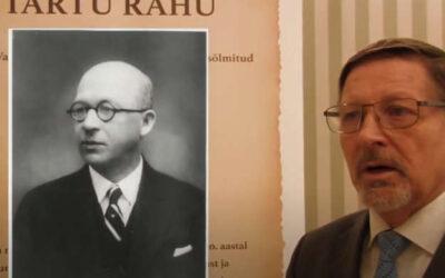 Tartu Rahu, Jaan Poska ja Eesti Autonoomia – esitleb Jüri Trei