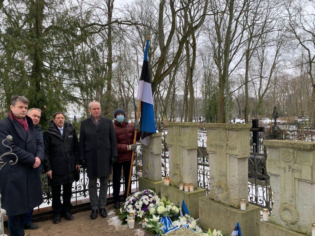 Mälestustseremoonia Tallinna Siselinna kalmistul